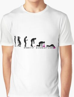 Party Evolution T-Shirt Graphic T-Shirt