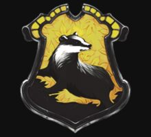 Hufflepuff Crest - Single Kids Clothes