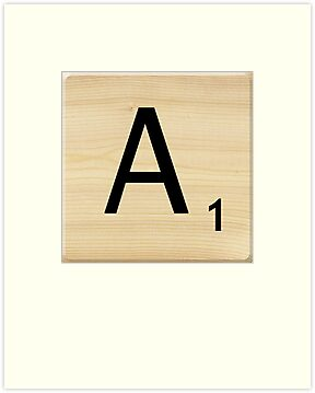 Scrabble Letter A	 by Scrabbler