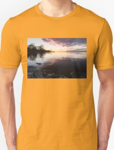 A Great Meditation Spot - Lake Ontario Cove in the Morning T-Shirt