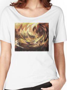 Terrestrial Brush Strokes  Women's Relaxed Fit T-Shirt