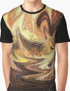 Terrestrial Brush Strokes  Graphic T-Shirt