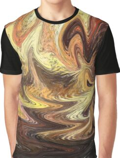 Terrestrial Brush Strokes  Graphic T-Shirt