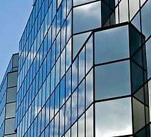 Glass office building. by FER737NG