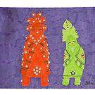 Zuni Maidens by DebiCady