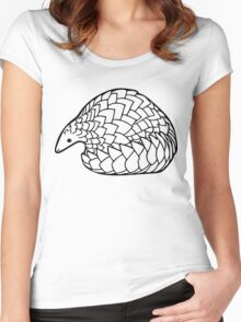 Save the Pangolins Women's Fitted Scoop T-Shirt