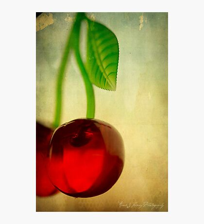 Vintage Cherries Photographic Print