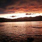 Orange Sunset by DeanWinfield