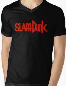 Slam Dunk Logo (Shohoku) Mens V-Neck T-Shirt