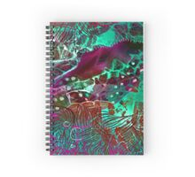 Psych Abstract Spiral Notebook
