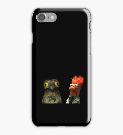 Pootoo and Beaker iPhone Case/Skin