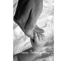 Father's Love Photographic Print