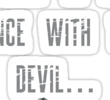 """Max Payne """"Dance with the Devil"""" Sticker"""