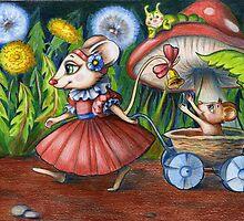 Mama Mouse by Tania Richard