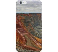 Open Cut Gold Mine iPhone Case/Skin
