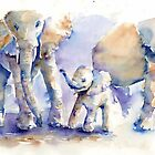 Elephants by Tania Vasylenko