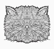 Persian Cat - Complicated Coloring by complicolor