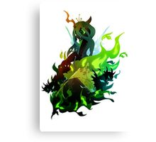 Queen Chrysalis with Changelings Canvas Print