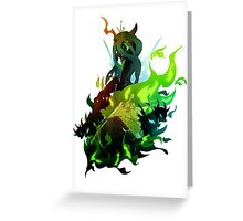 Queen Chrysalis with Changelings Greeting Card