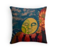 Maui Gallery Cats Throw Pillow