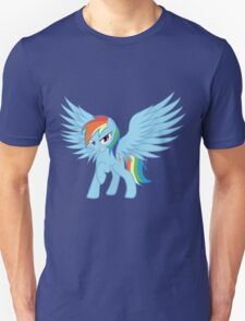 Rainbow Dash with Spread Wings T-Shirt