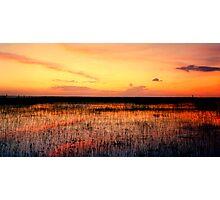 Sunset. East Lake Toho. Photographic Print