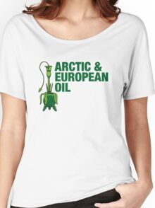 Arctic & European Oil Women's Relaxed Fit T-Shirt