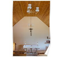 Building, Chapel, Stone altar Poster