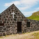 Building, Church, St. Columbas, Chapel, Canna, Inner Hebrides by Hugh McKean
