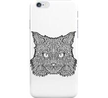 Ragamuffin Cat - Complicated Coloring iPhone Case/Skin