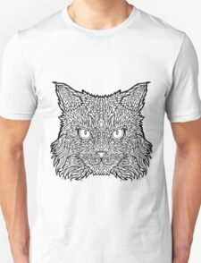 Ragamuffin Cat - Complicated Coloring T-Shirt