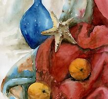 Still life with a Star Fish  by Tania Richard