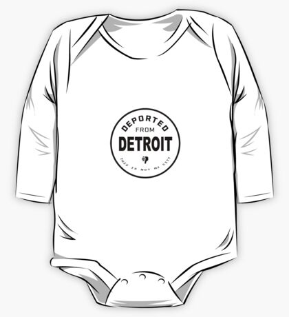 Deported from Detroit One Piece - Long Sleeve