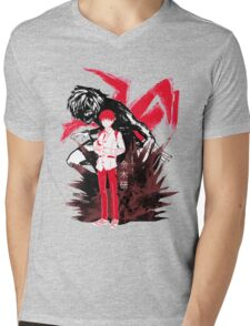 Inner Ghoul Mens V-Neck T-Shirt