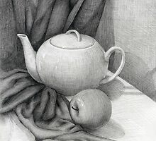 Still Life with a Tea Pot by Tania Richard