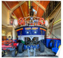 Filey Lifeboat Poster