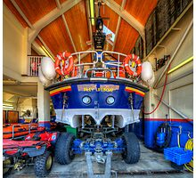 Filey Lifeboat Photographic Print