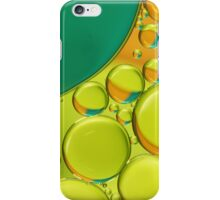Bubble Abstract with a Twist of Lime iPhone Case/Skin