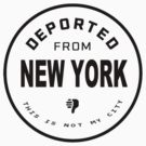 Deported from New York by Charles McFarlane
