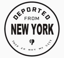 Deported from New York Baby Tee