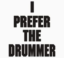 I PREFER THE DRUMMER (DAVE GROHL / TAYLOR HAWKINS) by DanFooFighter