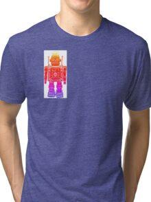 Rainbow robot Tri-blend T-Shirt
