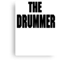 THE DRUMMER (DAVE GROHL / TAYLOR HAWKINS) Canvas Print