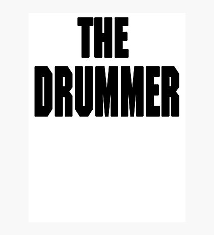 THE DRUMMER (DAVE GROHL / TAYLOR HAWKINS) Photographic Print