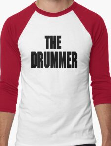 THE DRUMMER (DAVE GROHL / TAYLOR HAWKINS) Men's Baseball ¾ T-Shirt