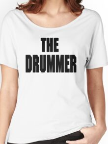 THE DRUMMER (DAVE GROHL / TAYLOR HAWKINS) Women's Relaxed Fit T-Shirt