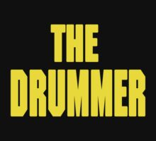 THE DRUMMER (DAVE GROHL / TAYLOR HAWKINS) YELLOW One Piece - Long Sleeve