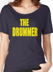 THE DRUMMER (DAVE GROHL / TAYLOR HAWKINS) YELLOW Women's Relaxed Fit T-Shirt