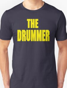 THE DRUMMER (DAVE GROHL / TAYLOR HAWKINS) YELLOW T-Shirt