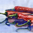 Peppers by Tania Vasylenko